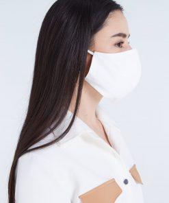 Masque barrière en mousseline/coton - LAVABLE 100 fois 3